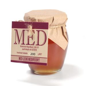 MED lesní medovicový_200g