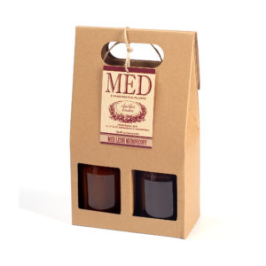 MED lesní 2x450g_giftbag
